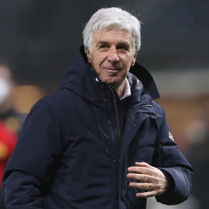 Gasperini made a cheeky hint in a press conference