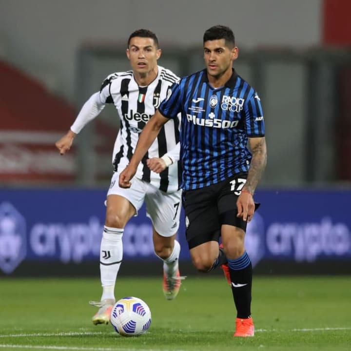 Cristian Romero, Cristiano Ronaldo