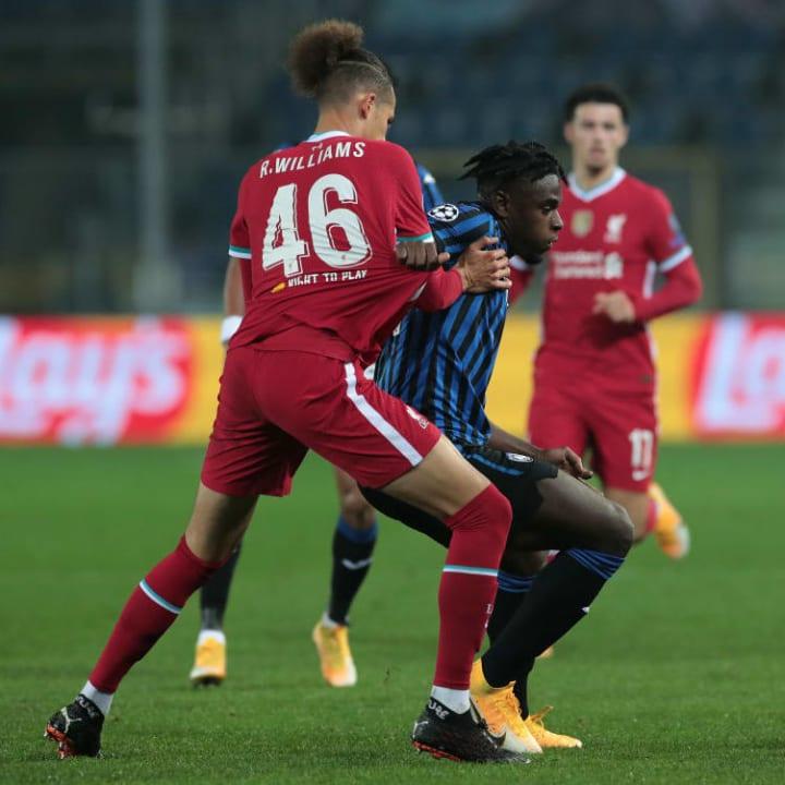 Williams grapples with Duvan Zapata