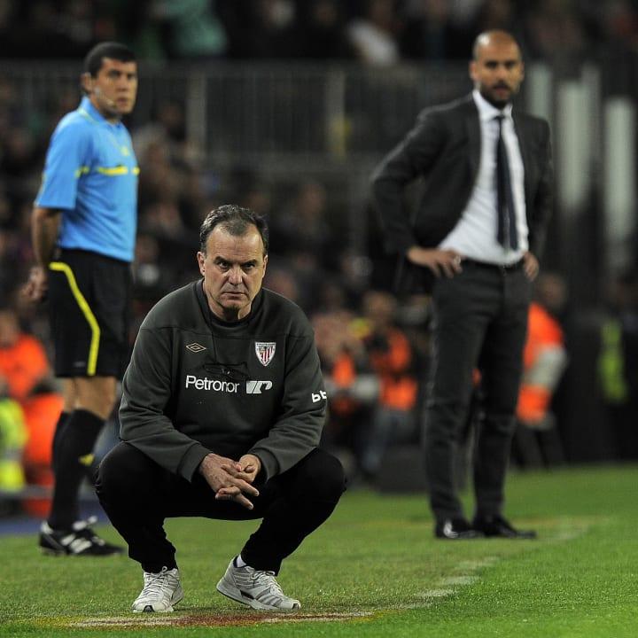 Bielsa and Guardiola have previously squared off in La Liga