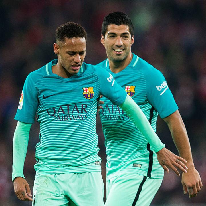 Hwang turned to Neymar & Suarez for help