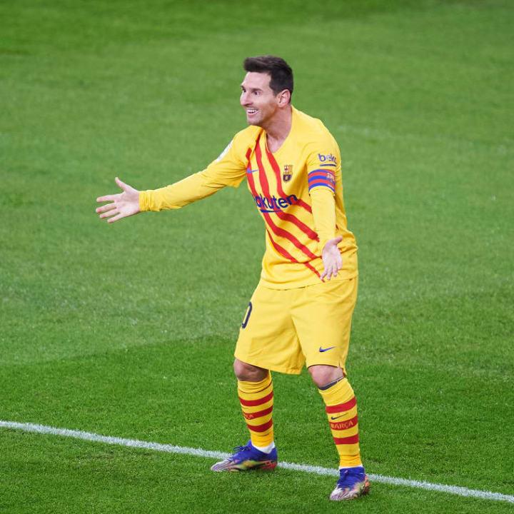 Messi is feeling himself again