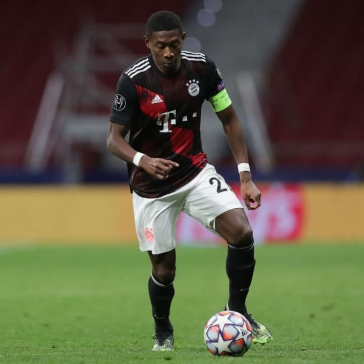 David Alaba is the man who can play anywhere on the pitch