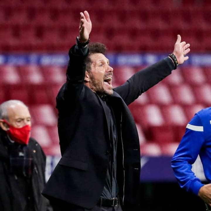 Diego Simeone has won his second La Liga title as a manager