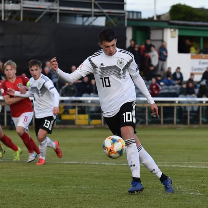 Austria v Germany: Group D - 2019 UEFA Under17 European Championship