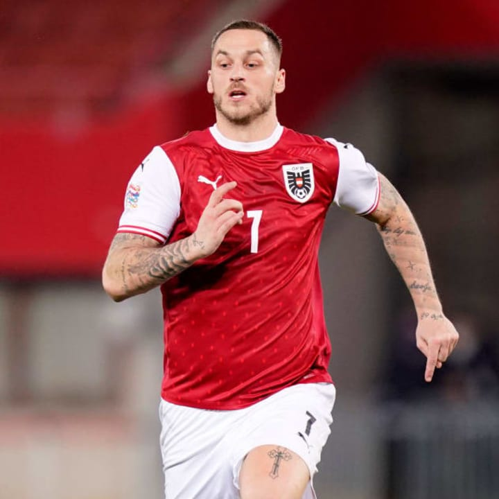 Marko Arnautovic may have to make do with a place on the bench