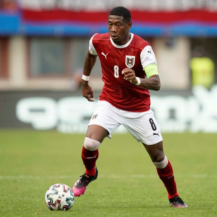 David Alaba's side should have too much quality for North Macedonia