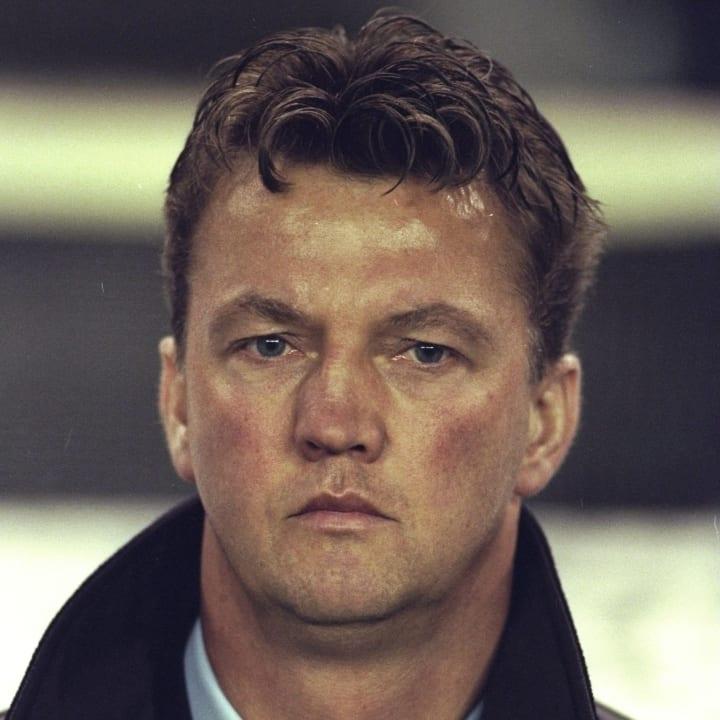 Louis van Gaal left Barcelona in 2000 before returning two years later