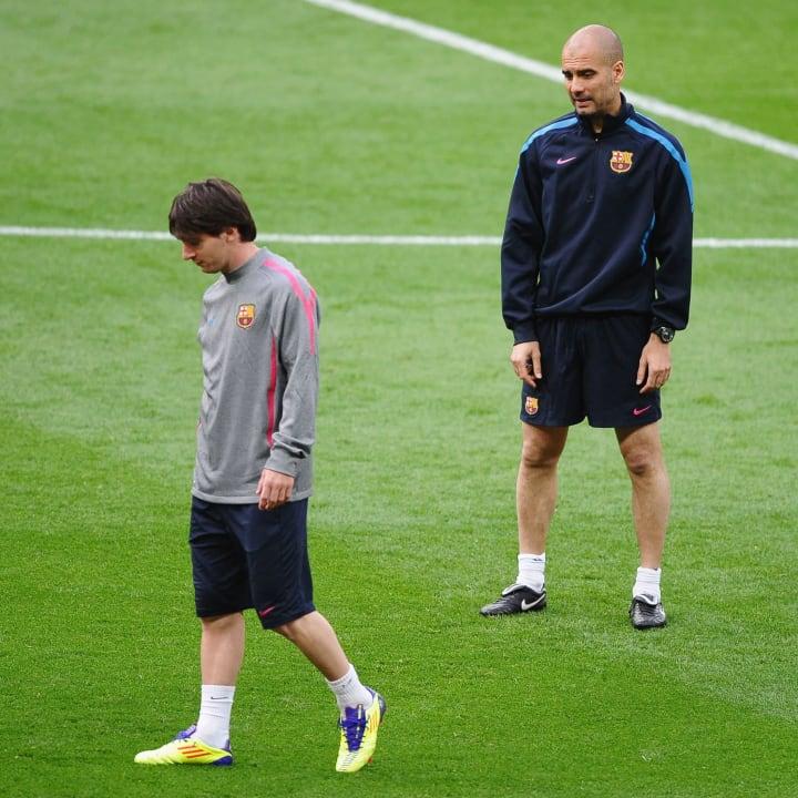 Josep Guardiola, Lionel Messi