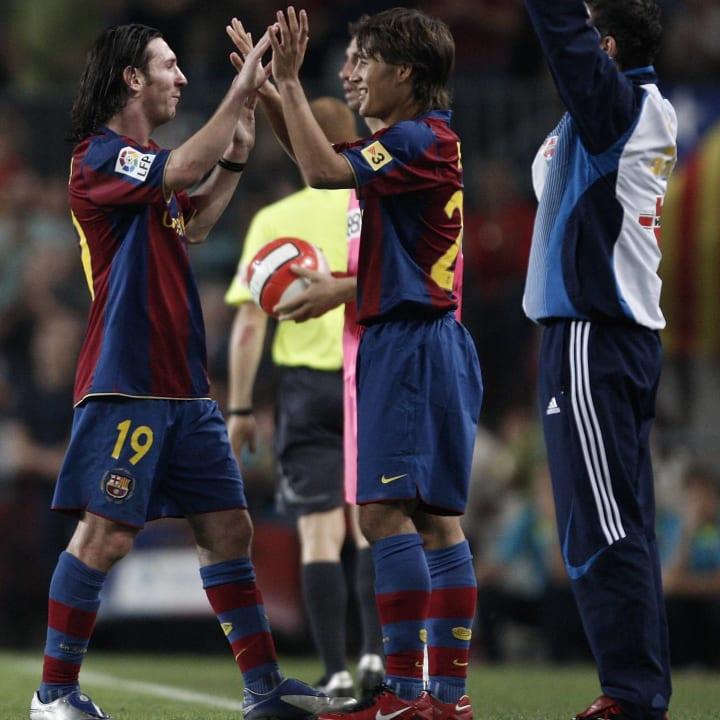 Lionel Messi, Bojan Krkic