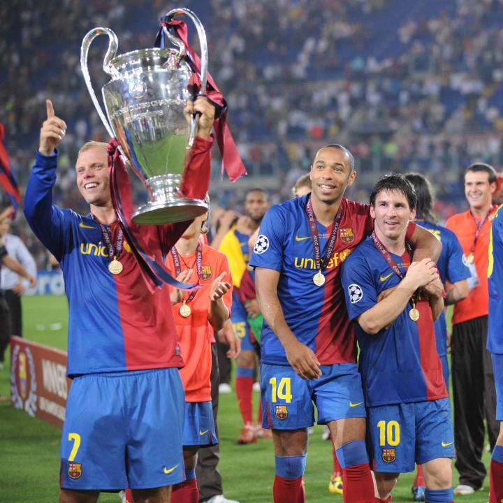Eidur Gudjohnsen, Lionel Messi, Thierry Henry