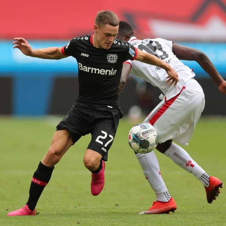 Florian Wirtz ist Leverkusens jüngster Bundesliga-Profi