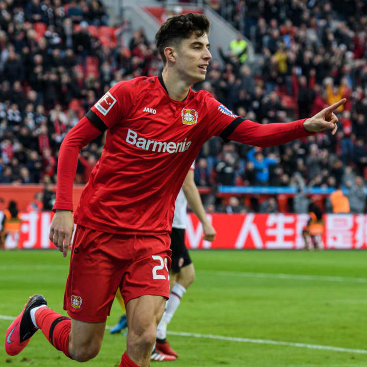 Kai Havertz has been linked with Liverpool