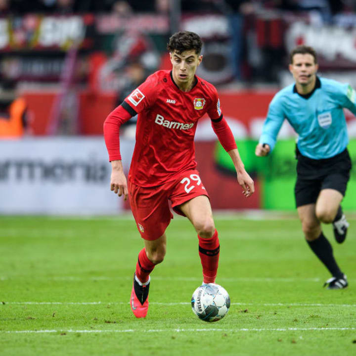 Bayern Munich, Manchester United, Liverpool & Real Madrid have all been linked with Havertz