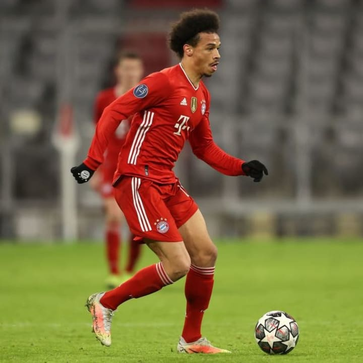The sale of Leroy Sane will be included in this season's accounts