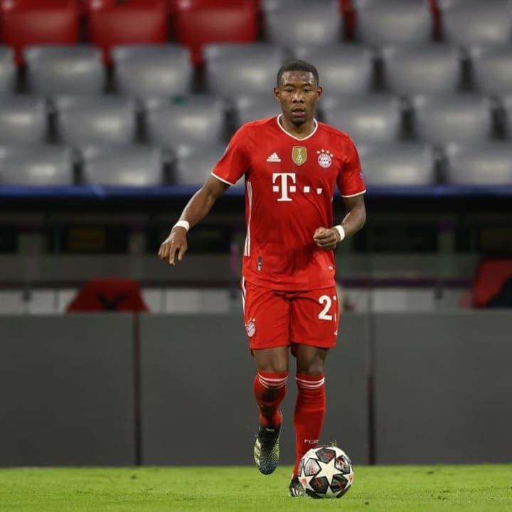 David Alaba is understood to have rejected moves to PSG and Chelses