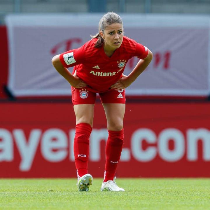 Melanie Leupolz ist beim FCB & DFB eine wichtige Stütze