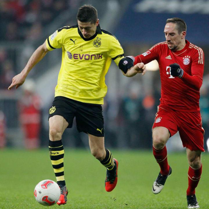 Franck Ribery, Robert Lewandowski