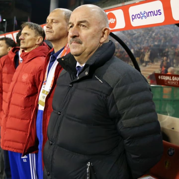 Stanislav Cherchesov was appointed by Russia after Euro 2016