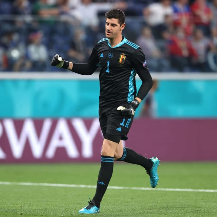 Thibaut Courtois will take his place in goal