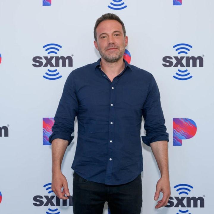 Ben Affleck Visits The SiriusXM Hollywood Studios