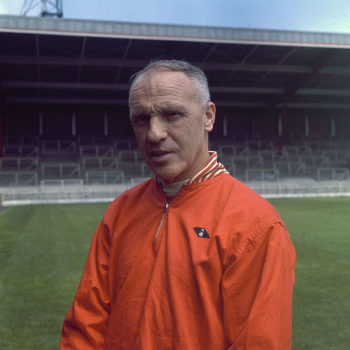 Bill Shankly won three English titles as Liverpool boss