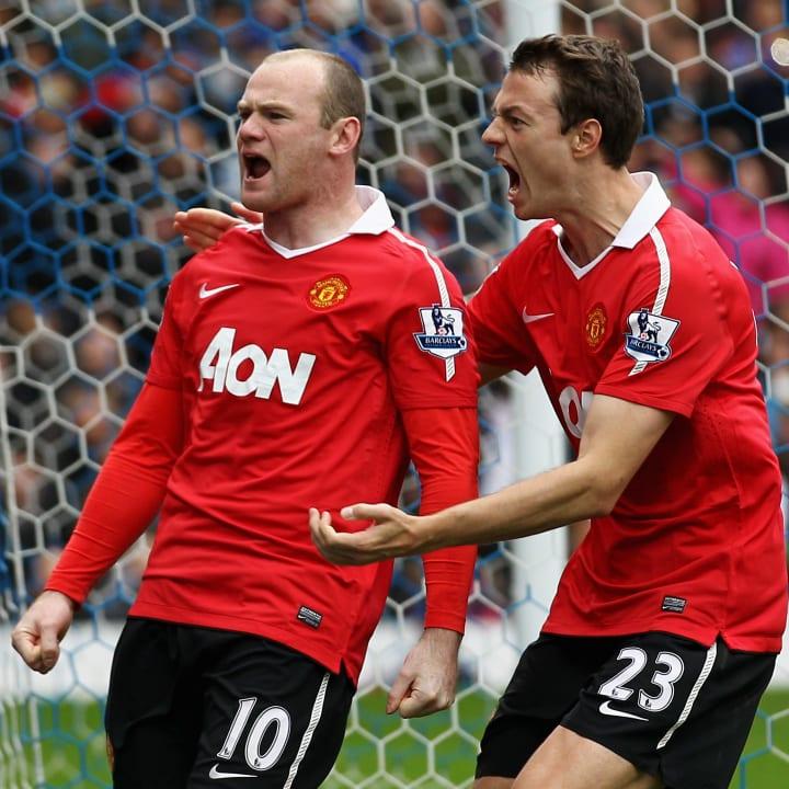 Wayne Rooney, Jonny Evans