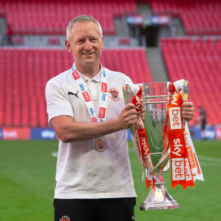 Neil Critchley helped Blackpool to promotion last season