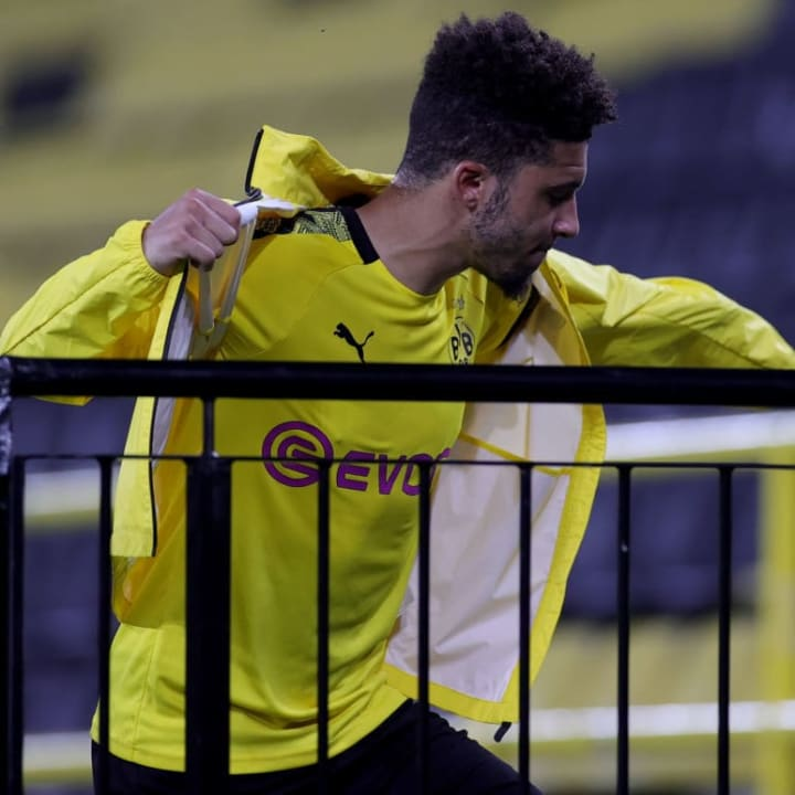 Sancho spent most of Saturday's win over RB Leipzig on the bench