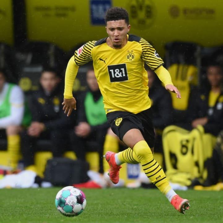 Man Utd are in talks with Borussia Dortmund over a Sancho transfer fee
