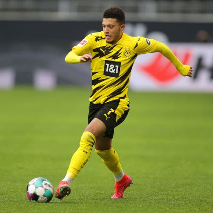 Sancho is seen as the ideal right wing signing at Old Trafford