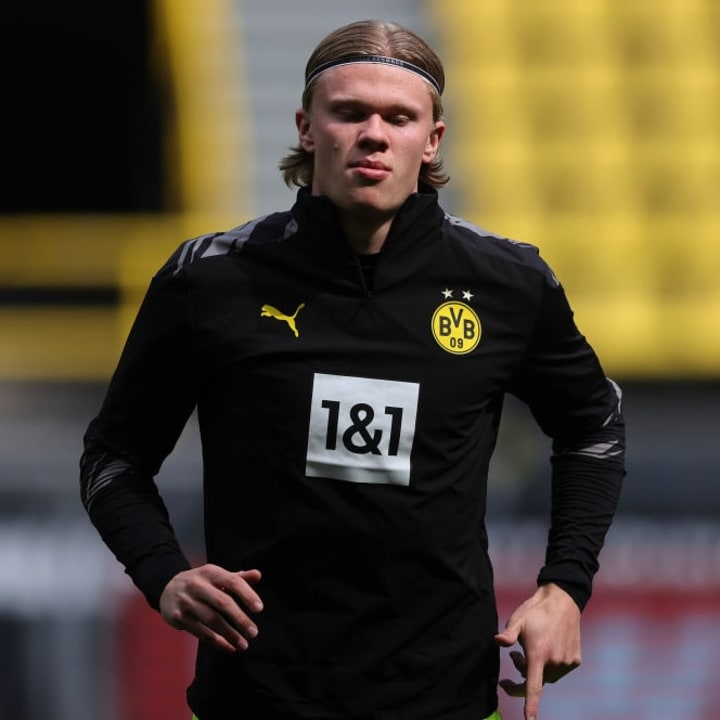 Haaland's €75m release clause only becomes active in 2022