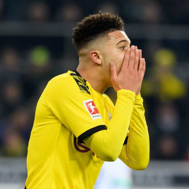 Jadon Sancho is another big-money target for Manchester United.