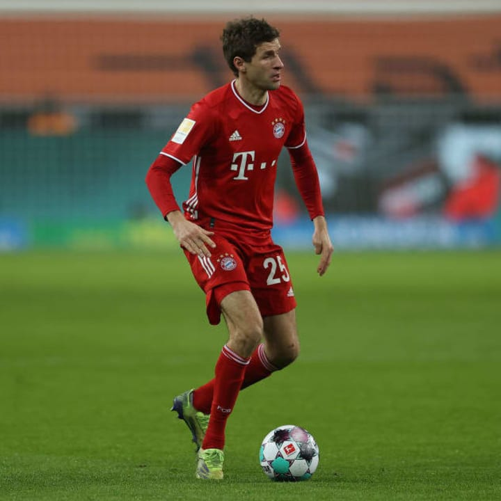 Muller is still assisting goals at a mental rate
