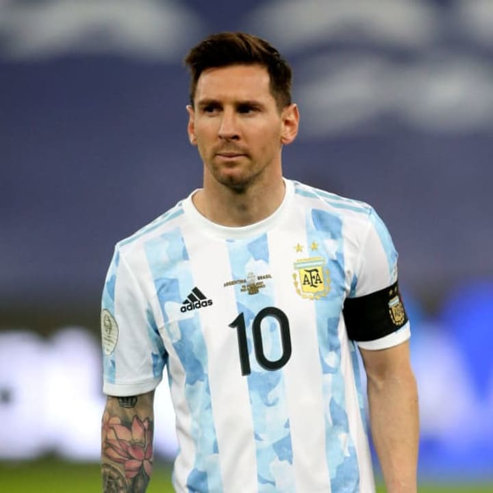 Messi became a free agent while away at the Copa America