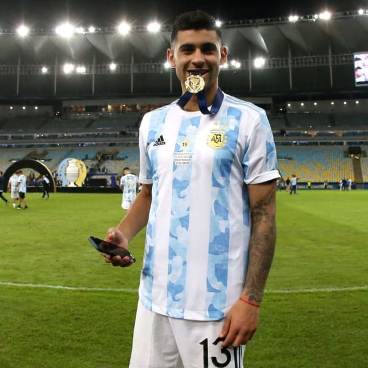Romero won the Copa America with Argentina earlier this summer
