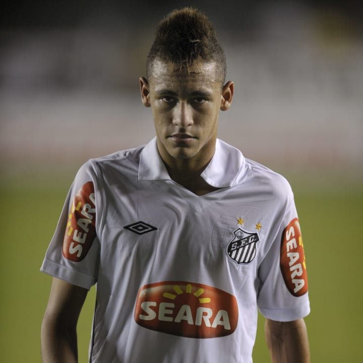 Neymar was on the edge of world class as a teenager