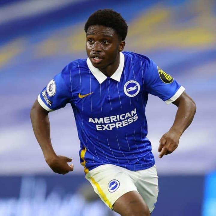 Tariq Lamptey is starting games for Brighton