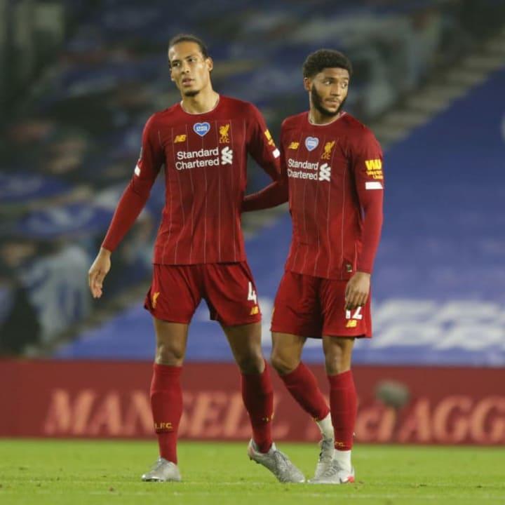 Both Van Dijk & Gomez suffered serious knee injuries