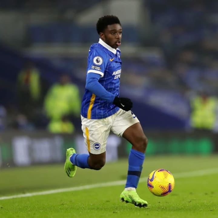 Lamptey has impressed scouts