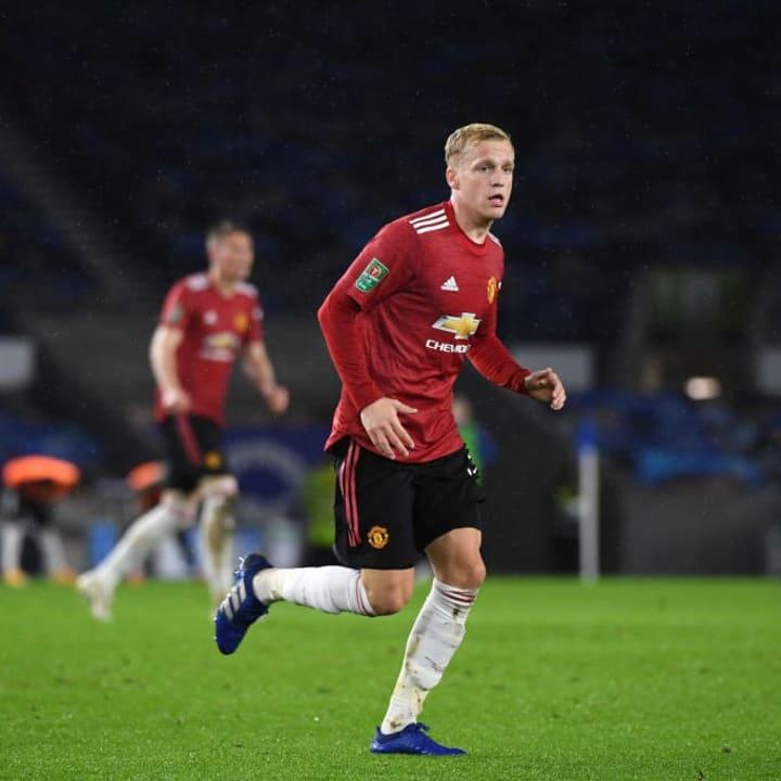 United looked away from Sancho to sign Van de Beek