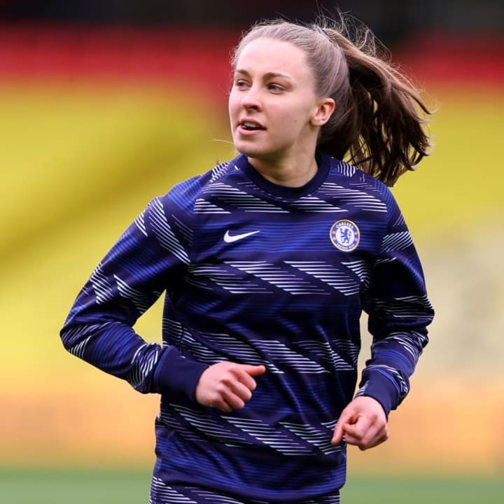 Chelsea winger Niamh Charles could make her Lionesses debut