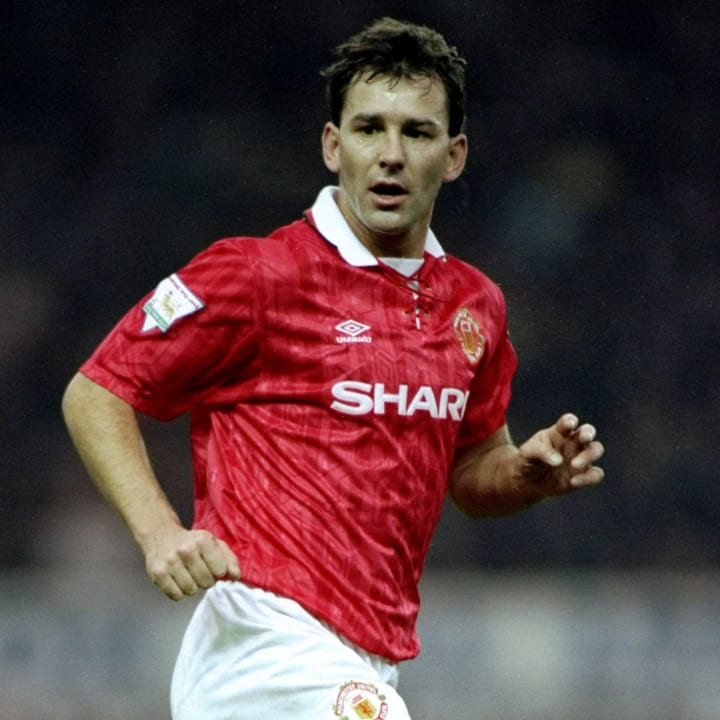 Bryan Robson - Manchester United captain