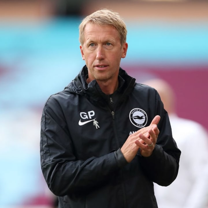 Graham Potter has completely altered Brighton's style of play