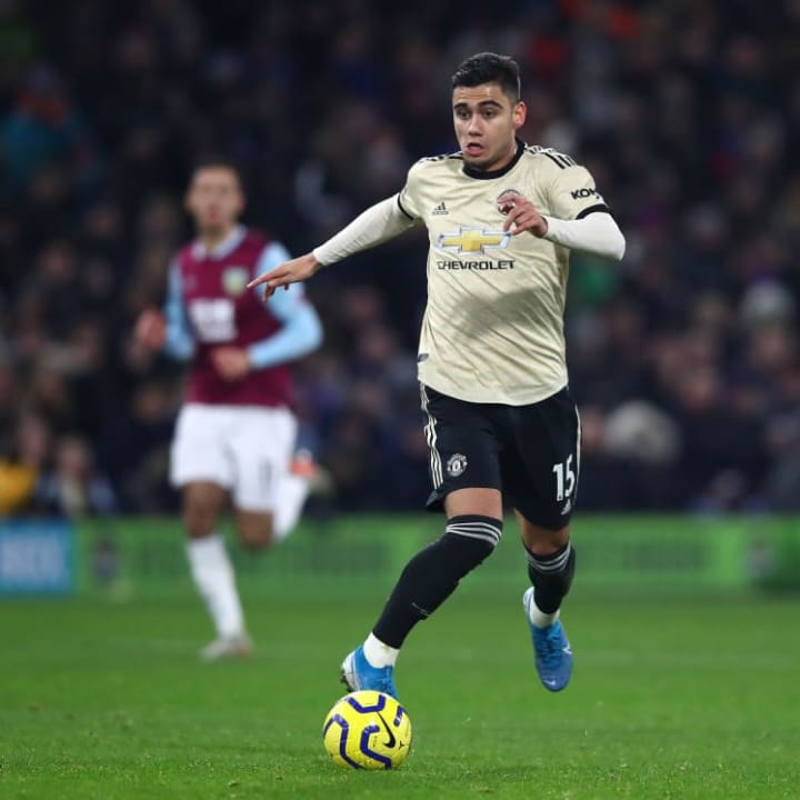Pereira in action against Burnley in the Premier League