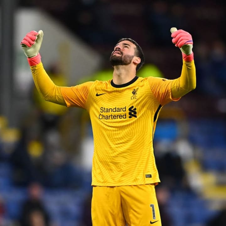 Alisson has signed a new deal at Liverpool