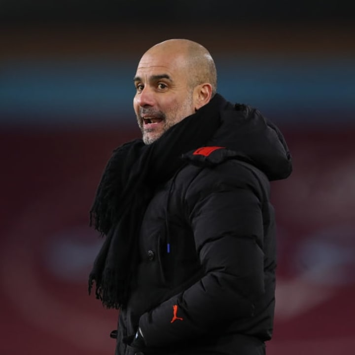 Guardiola was unimpressed with the dig