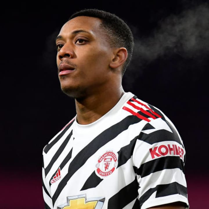 Anthony Martial has had a poor season in 2020/21