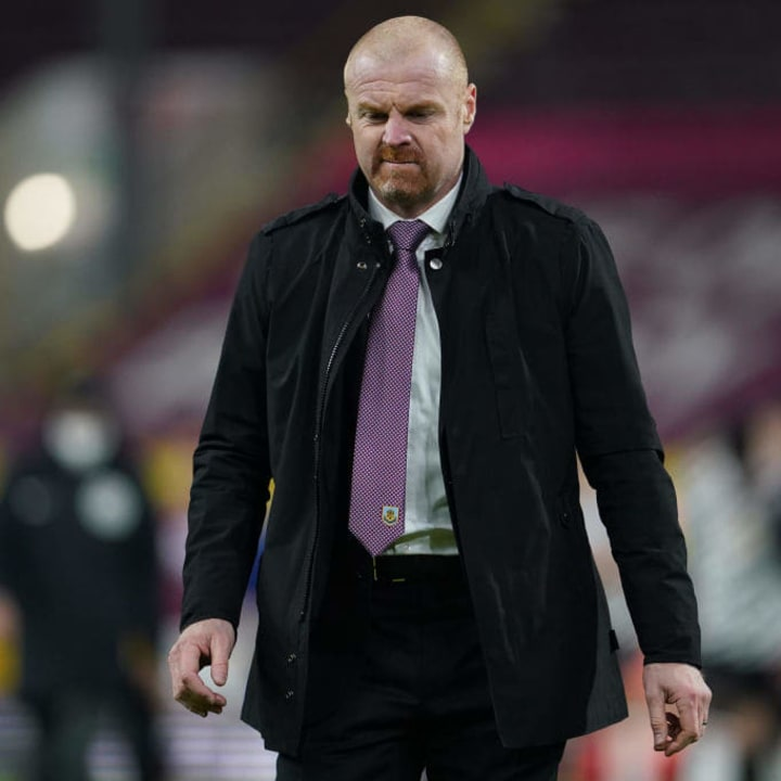 Sean Dyche's Burnley haven't played away from home since losing to Leeds on December 27
