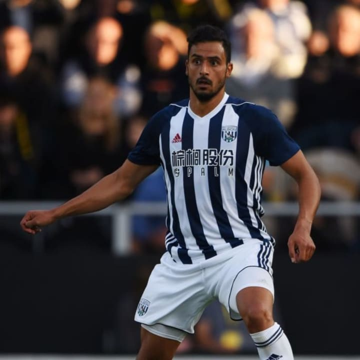 Nacer Chadli left West Brom for Monaco with the Baggies in the Championship